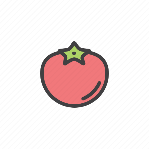 health, red, tomato, vegetable icon
