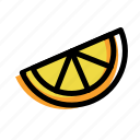eat, food, fruit, lemon, orange icon