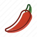 chilli, food, hot, meal, plant, spicy icon