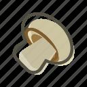 champignon, food, meal, mushroom, plant icon
