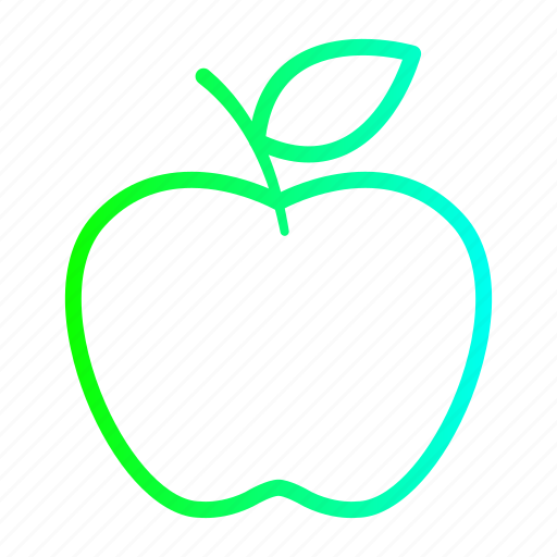 apple, fruit, fruits, healthy icon