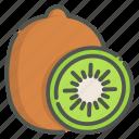 kiwi, fruit, organic, vegetarian