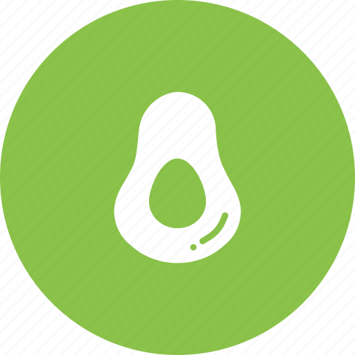 avacado, avocado, fat, fruit, healthy, saturated, vegetable icon