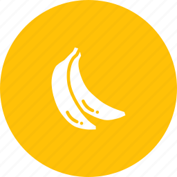 banana, fruit, healthy icon