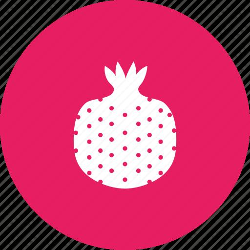 fruit, pome, pomegranate, seeds icon