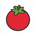 berry, tomato, vegetable icon