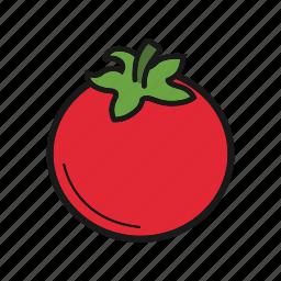 berry, tomato, vegetable icon