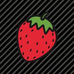berry, fruit, strawberry icon