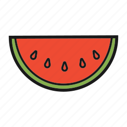 berry, fruit, watermelon icon