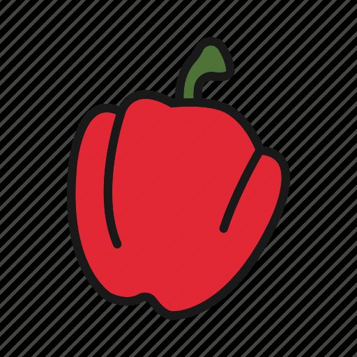 bulgarian, pepper, vegetable icon