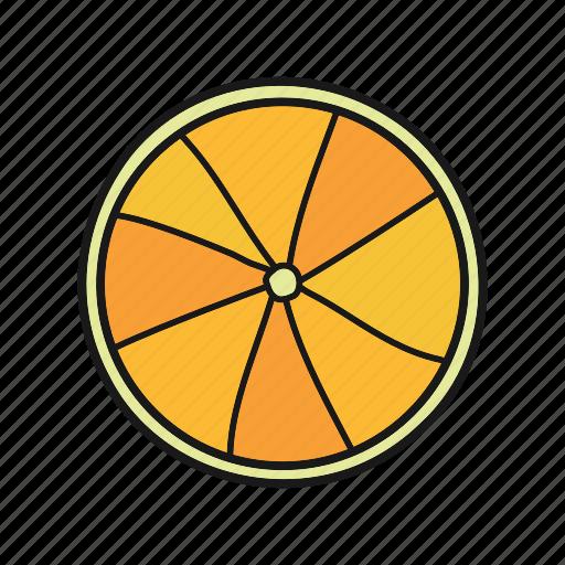 citrus, fruit, lemon, lime, orange, tropical icon