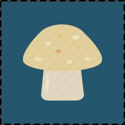eat, food, healthy, mushroom, vegetable, vitamin d icon