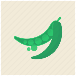 food, fresh, green, healthy, pea, peas, vegetable icon