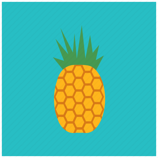 eat, food, fresh, fruit, healthy, pineapple, tropical icon