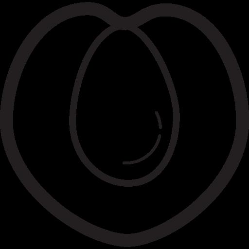 fruit, fruits, peach icon