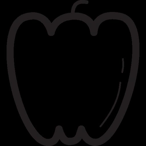 pepper, vegetable, vegetables, veggie, veggies icon
