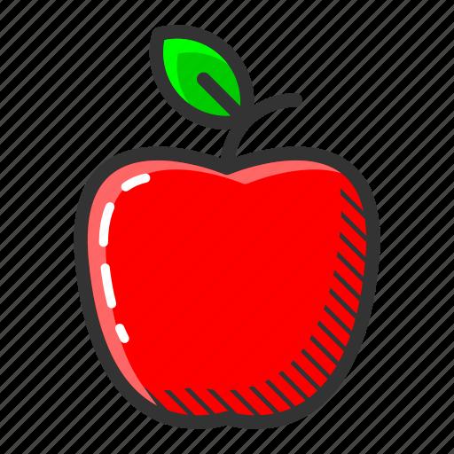 apple, dessert, food, fruit, juicy, sweet, vitamin icon