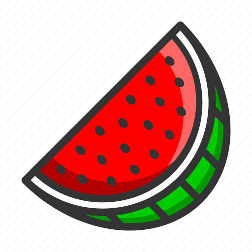 dessert, food, fruit, healthy, juicy, vitamin, watermelon icon