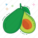avocado, fruit, fruits icon