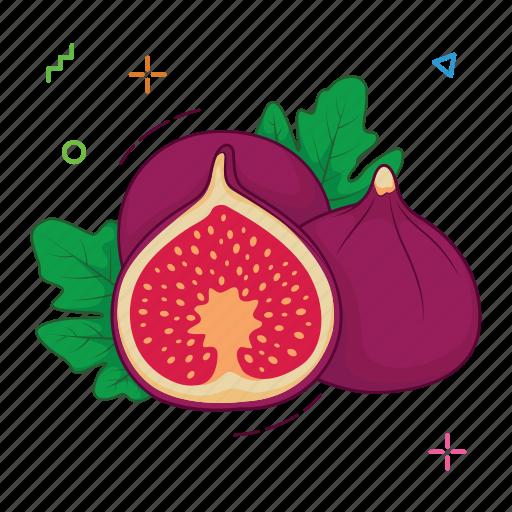 Figs Fruits Fruit Icon