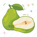 fruit, fruits, pear icon
