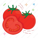 fruit, fruits, tomato icon