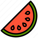 fresh, fruit, fruits, healthy, tropical, watermelon icon