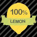 fruit, lemon
