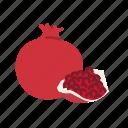 farm, food, fruit, nature, organic, pomegranate