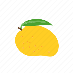 farm, food, fruit, mango, nature, organic icon