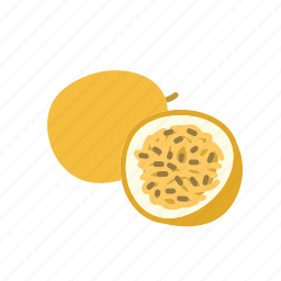 farm, food, fruit, nature, organic, passion fruit icon