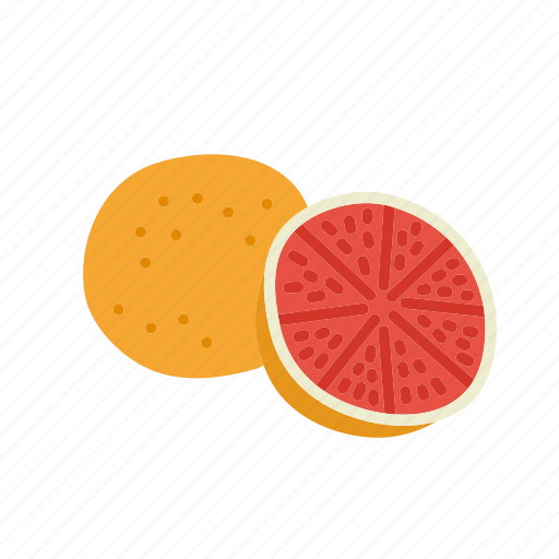 farm, food, fruit, grapefruit, nature, organic icon