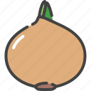 food, healthy, onion, vegetable, vegetarian icon