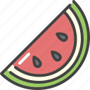 berry, food, fruit, healthy, vegetarian, watermelon icon