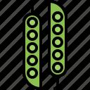 food, peas, shop, supermarket, vegetable, vegetables icon