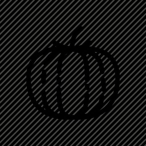 food, halloween, pumpkin, vegan, vegetable, vegetarian icon