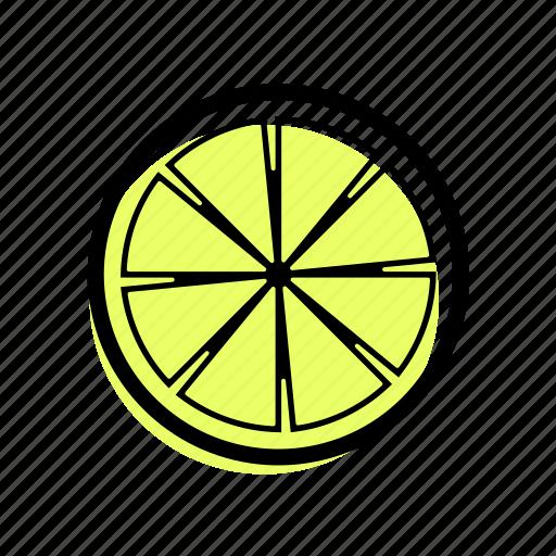 basic license, color, food, fruit, lemon icon