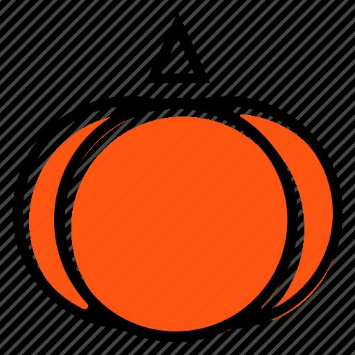Basic license, color, food, pumpkin, vegetable icon - Download on Iconfinder