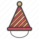 hat, if, party icon