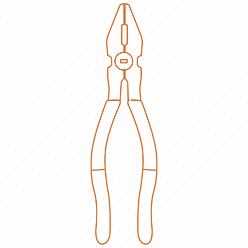 construction, handyman, pliers, tool, wire cutter icon