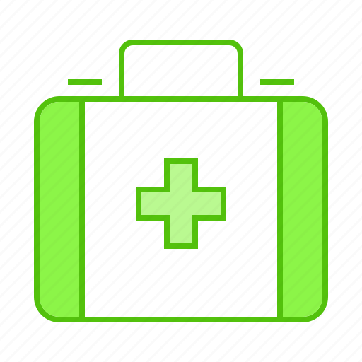 aid, emergency, first, kit, medical icon
