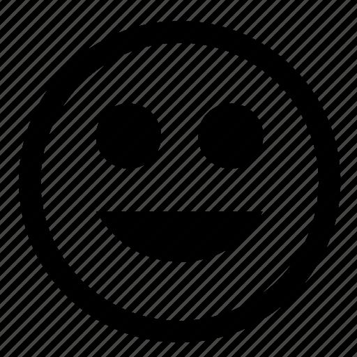 face, feeling, fun, good, smile, smiler icon