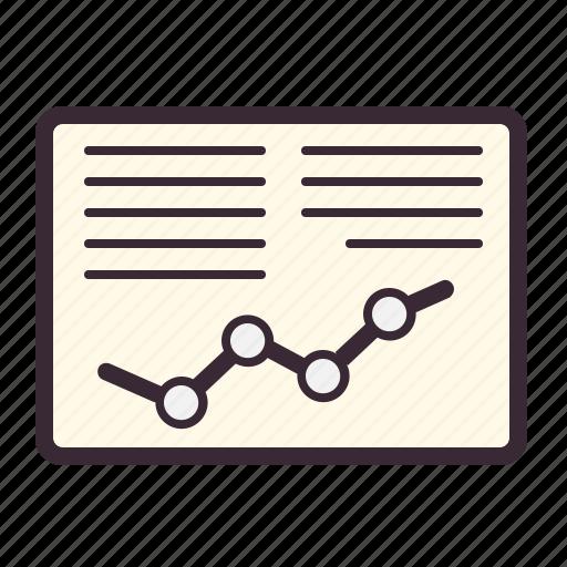 analytics, business, chart, diagram, graph, report, statistics icon