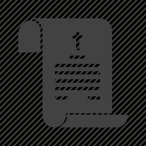 certificate, dead, death, document, form, legal, paper icon