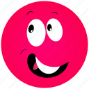 .svg, cartoon face, joyfull face icon