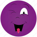 .svg, cartoon face, crazy face icon