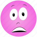 cartoon face, lazy face icon