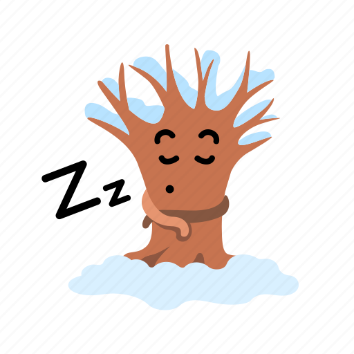 Bare Cartoon Mascot Sleep Snow Tree Winter Icon Download On Iconfinder Custom animatronic tree mascot costume for theather stage props maker character design & productionaris mascots • 1,7 тыс. bare cartoon mascot sleep snow tree winter icon download on iconfinder