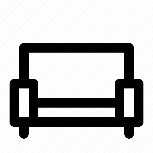 applicance, funiture, nontext, sofa icon