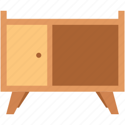 almirah, cabinet, cupboard, drawers, table almirah icon